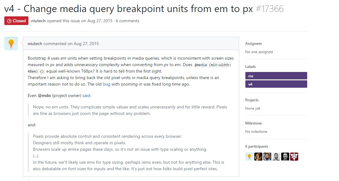 Modify media query breakpoint  systems from 'em' to 'px'