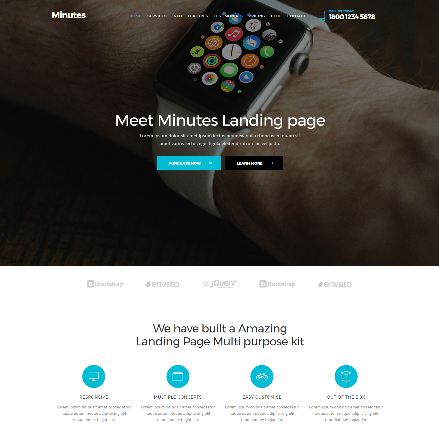 Free Bootstrap Minutes Templates